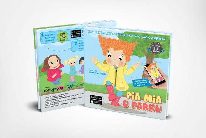 Pia Mia: Hrvatski stručnjaci osmislili pametne slikovnice za djecu