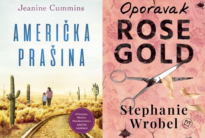 Znanje i Vorto Palabra donose svjetske književne senzacije: romane Američka prašina i Oporavak Rose Gold