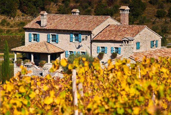 Pogledajte kako izgleda najljepša istarska vinarija u jesenskim bojama