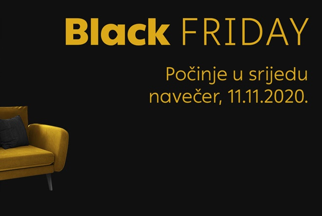 Black Friday započeo je na Vivre.hr