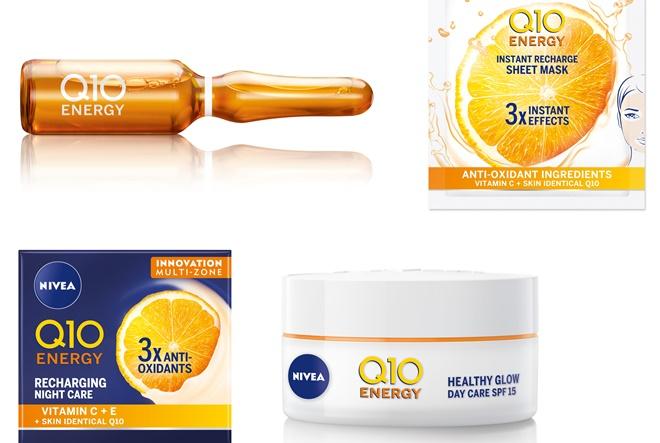 Uvjerite se u moć vitamina C uz nove NIVEA Q10 Energy proizvode
