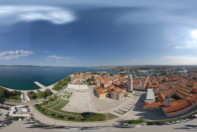 Magic Croatia: Prošetajte virtualno Zadrom!