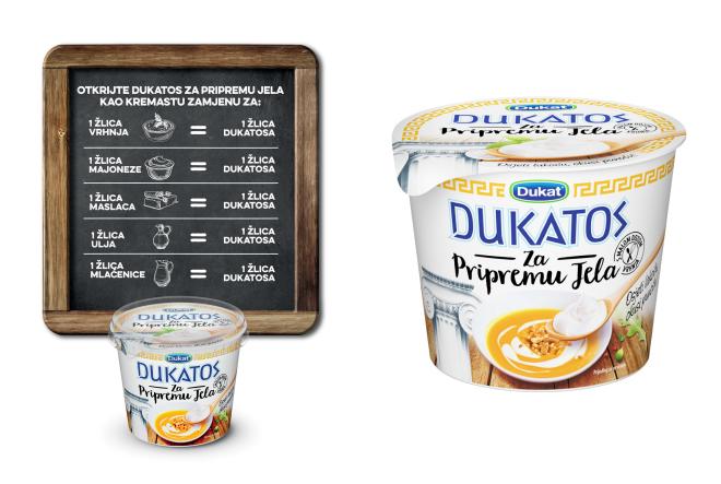 Dukat predstavio Dukatos za pripremu jela