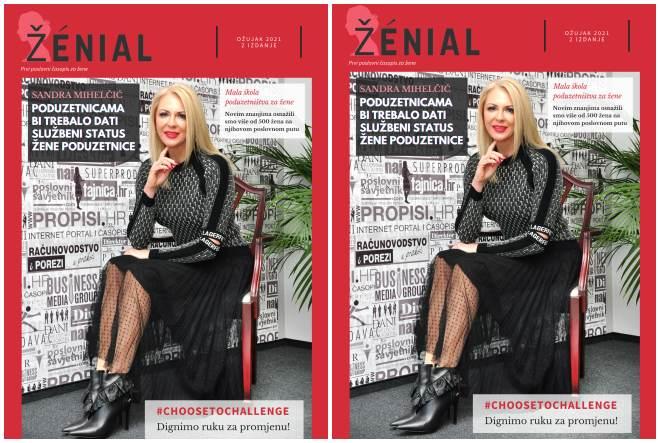 Izašao novi broj digitalnog časopisa za poslovne žene i poduzetnice – Ženial