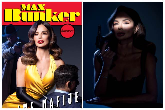 'U ime mafije' roman je tvorca Alan Forda, na čijoj se naslovnici pojavljuje Severina