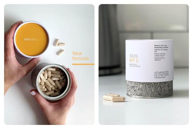 Skin Vit C: Tris snažnih sastojaka za cjelovito zdravlje kože iznutra
