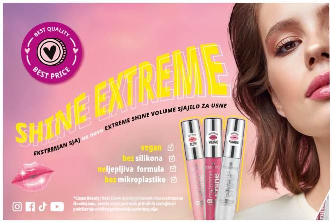 Upoznajte novo extreme shine volume sjajilo za usne