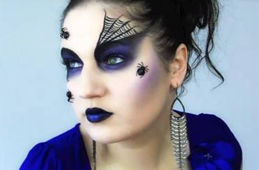 Halloween make-up tutorijal