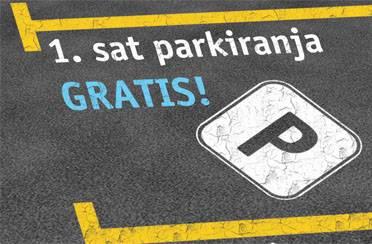 Besplatno parkiranje u Avenue Mallu