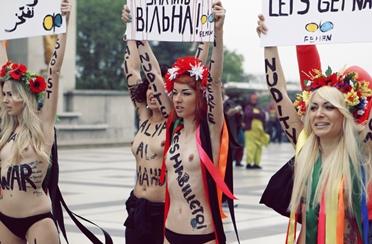 Femen – golotinja kao oružje