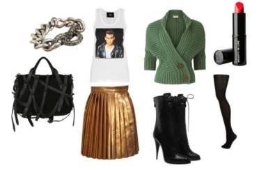 Jedna zlatna suknja i tri super outfita