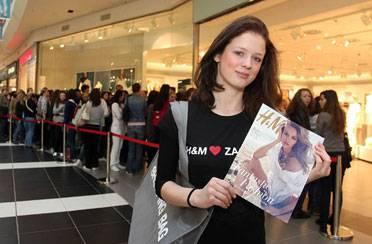 Veselo otvorenje H&M-a u Arena centru