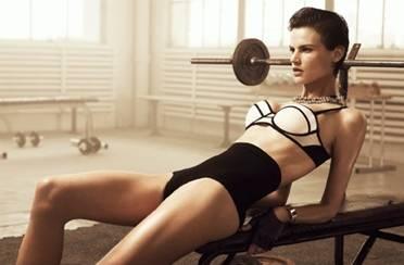 H&M izazovan look u teretani