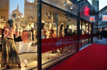 VIP otvorenje H&M-a