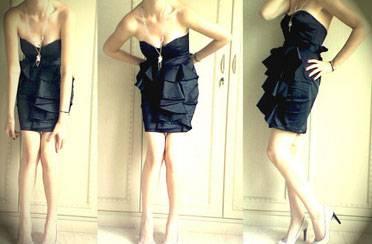 Kako kombinirati malu crnu haljinu?