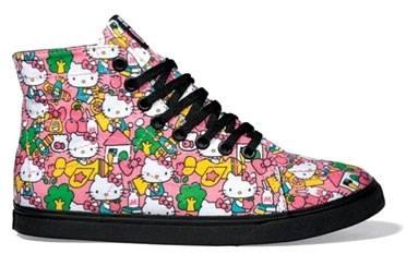 Hello Kitty na Vansicama