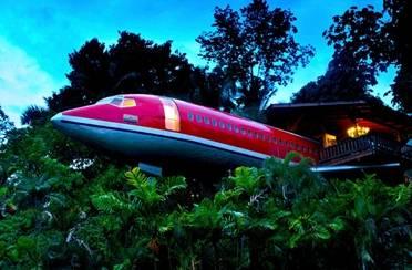 Hotel u unutrašnjosti aviona