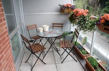 Opustimo se na balkonu