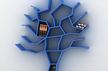 Kreativne police za knjige