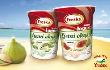 Ljetni okusi Freska jogurta