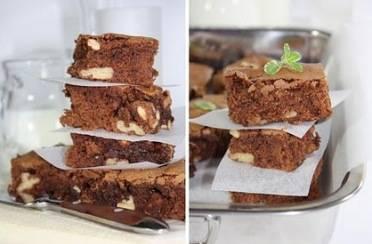 Brownies s orasima