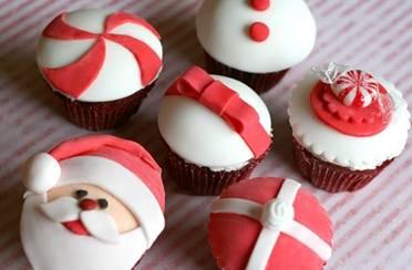 Božićni cupcakesi