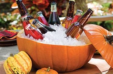 Halloween posuda za led