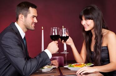 Romantična večera za dvoje na Valentinovo