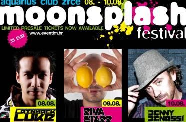 Moonsplash festival na Zrću