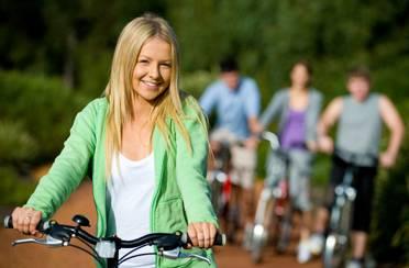 Užitak vožnje na biciklu