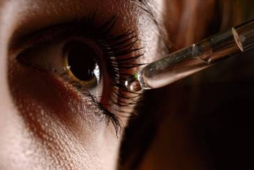 Suho oko u hladno jutro